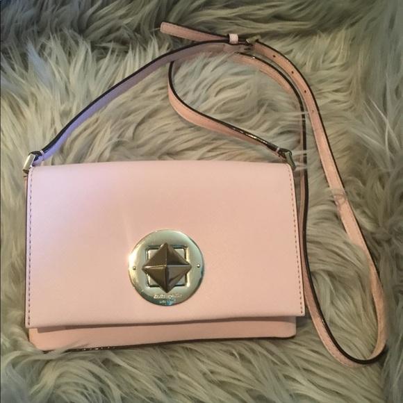 Kate Spade Handbags - Kate ♠️ Pink Crossbody🎄WEEKEND SALE🎄